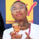 Tyga arrives at the 2008 MTV Video Music Awards held at Paramount Pictures Studios on September 7, 2008 in Los Angeles, California