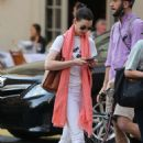 Anne Hathaway Heads To The Theatre In New York
