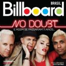 No Doubt, Gwen Stefani, Tony Kanal, Adrian Young, Tom Dumont - Billboard Magazine Cover [Brazil] (September 2012)