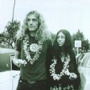 Maureen Wilson and Robert Plant in Hawaii, September 1969