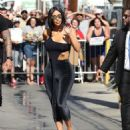 Kim Kardashian – Arrives at Jimmy Kimmel Live in Hollywood