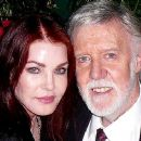 Priscilla Presley and Barry Crocker