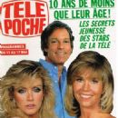 Donna Mills - Tele Poche Magazine Cover [France] (6 May 1991)