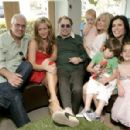 Joely Fisher with family