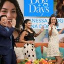 Nina Dobrev and Vanessa Hudgens at 'Despierta America' TV show in Miami