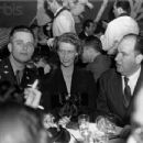 Johnny Meyer with Elliott and Anna Roosevelt