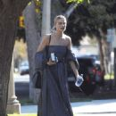 Margot Robbie in Long Dress out in Los Angeles - 454 x 592