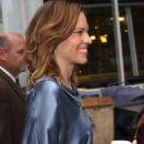 Hilary Swank - Arriving At The GMA Show In NY, 6 May 2010