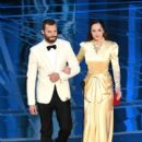 Jamie Dornan and Dakota Johnson At The 89th Annual Academy Awards - Show (2017) - 400 x 600