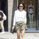 Crystal Reed in Shorts – Out in Los Angeles