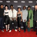 Jessica De Gouw attends WGN America's cocktail reception for 'Salem,' 'Outsiders,' and 'Underground' during New York Comic Con 2016 at The Standard Highline on October 8, 2016 in New York City - 454 x 334
