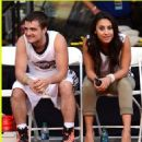 Francia Raisa and Josh Hutcherson