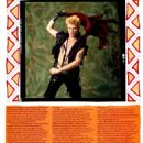 Billy Idol - Star Hits Magazine Pictorial [United States] (April 1984) - 454 x 597