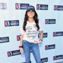 Sarah Hyland attends the 2019 Women's March Los Angeles on January 19, 2019 in Los Angeles, California