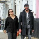 Daisy Ridley and Tom Bateman – Out in Primrose Hill - 454 x 448