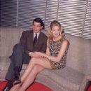 Vanessa Redgrave and George Hamilton