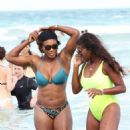 Serena Williams On Miami Beach