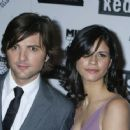 Adam Scott and Naomi Scott
