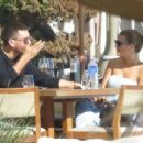 Sofia Richie – On a lunch date with Scott Disick at Nobu restaurant in Malibu