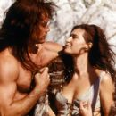 Kevin Sorbo and Karina Lombard