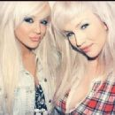 Amy Jay Hall and Ruby Grace