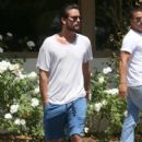 Scott Disick is spotted out for lunch at Lovi's Deli in Calabasas, California on June 30, 2016 - 401 x 600