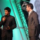 Hugh Jackman Having Fun With Bolly Celebs At FICCI 2011 Excellence Awards