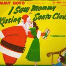 "Jimmy Boyd Original record sleeve ""I Saw Mommy Kissing Santa Claus"""