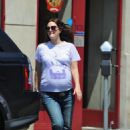 Drew Barrymore: in LA