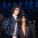 "Howard Stern and Slash attend SiriusXM's ""Howard Stern's Birthday Bash"" at Hammerstein Ballroom on January 31, 2014 in NYC"