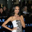 Zoe Saldana - Los Angeles Premiere Of 'Avatar' On December 16, 2009 At Mann's Chinese Theatre