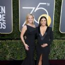 Reese Witherspoon and Eva Longoria – 2018 Golden Globe Awards in Beverly Hills