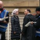 Anya Taylor-Joy – On set of 'Peaky Blinders' in Manchester