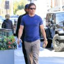 Mark Wahlberg runs errands in Beverly Hills on March 8, 2016