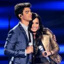 Joe Jonas and Demi Lovato