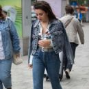 Charli XCX in Jeans out and about in Berlin - 454 x 681