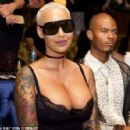 Amber Rose attends the Kat Von D Beauty Fragrance Launch Press Party #SAINTANDSINNER at Hollywood Roosevelt Hotel in Hollywood, California - June 20, 2017 - 454 x 296