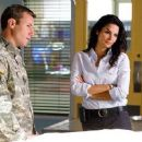 Angie Harmon and Chris Vance