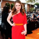 Jennifer Stone's Radiant 2012 Kids' Choice Arrival - 454 x 726