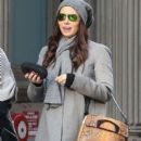 Jessica Biel out shopping with a friend in New York City, New York on December 16, 2014
