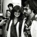 Steven Spielberg and Valerie Bertinelli