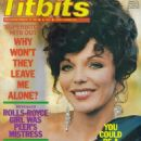 Joan Collins - Titbits Magazine Cover [United Kingdom] (20 February 1982)
