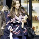 Melanie Sykes – Shopping at Hampstead High Street in London