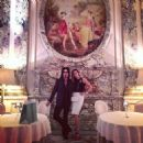 Nikki Sixx & Courtney Bingham Paris vacation June 2015