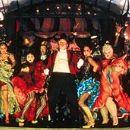 Fallon King, Christine Anu, Caroline O'Connor, Keith Robinson (II), Jim Broadbent, Natalie Mendoza, Deobia Oparei, Lara Mulcahy, Kiruna Stamall and Fiona Gage in 20th Century Fox's Moulin Rouge - 2001