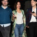 Daisy Lowe and Frankie Bridge night out in Soho - 454 x 734