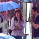 Katie Holmes – On a rainy day out in New York City