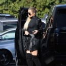Khloe Kardashian – Arriving for the 'Keeping Up With The Kardashians' taping in Sherman Oaks