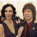 Mick Jagger and L'Wren Scott attend the