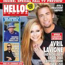 Avril Lavigne - Hello! Magazine Cover [Canada] (10 September 2012)